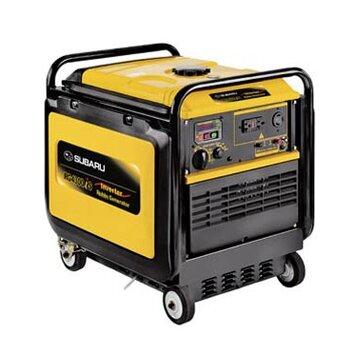 Sale subaru silent power 4300 watt gas inverter generator for Yamaha inverter generator 4500