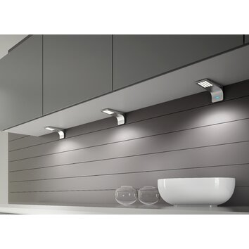Lite Tech Modica Under Cabinet Light in Grey & Reviews