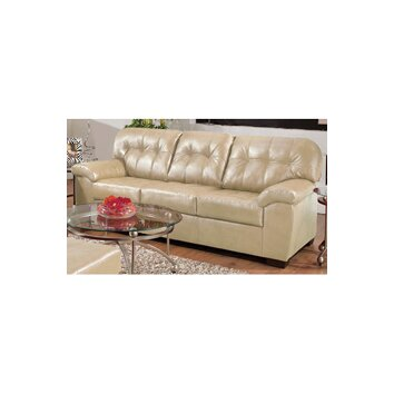 Simmons Upholstery Soho Bonded Leather Sofa amp Reviews