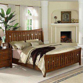 craftsman home slat bedroom collection wayfair