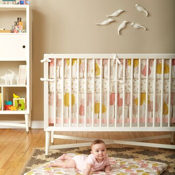 dwellstudio treetops nursery bedding collection dwellstudio