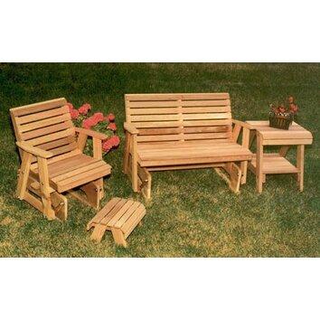 Creekvine Designs Cedar Classic Rocking Glider Furniture ...