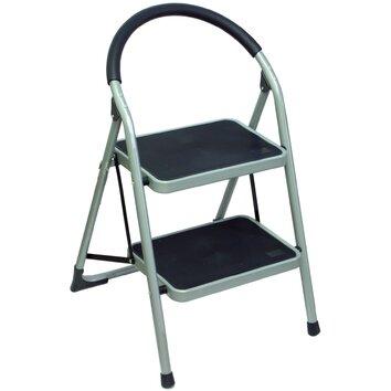 2 Tread Step Stool Ladder Wayfair Uk