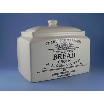 Henry Watson Pottery Charlotte Watson Bread Crock I