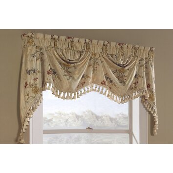 Treatments for your home part 2 modern curtain ideas for living room - United Curtain Co Jewel Austrian 108 Quot Curtain Valance