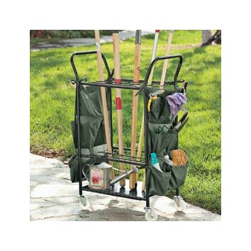 jj international garden tool caddy with casters reviews