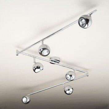 minisun retro 6 light ceiling spotlight reviews wayfair uk. Black Bedroom Furniture Sets. Home Design Ideas