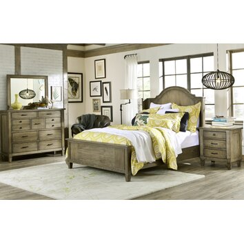 Brownstone village panel bedroom collection wayfair - Furniture village bedroom furniture ...