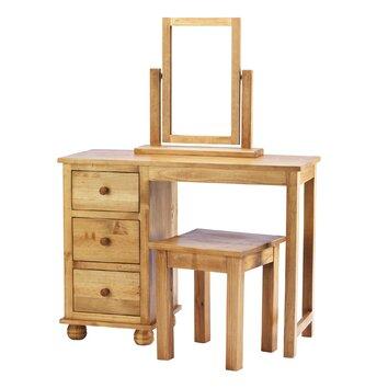 schminktisch belmont mit stuhl und spiegel. Black Bedroom Furniture Sets. Home Design Ideas