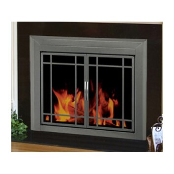 Pleasant Hearth Edinburg Prairie Cabinet Style Fireplace