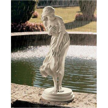 Garden Division Windblown Lady Statue Wayfair Uk