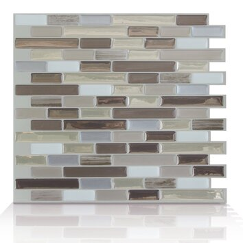 smart tiles mosaik self adhesive high gloss mosaic in