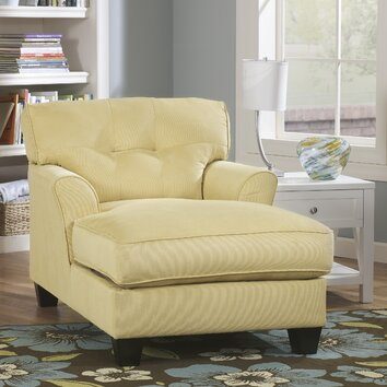 Signature design by ashley sanford chaise lounge reviews for Ashley furniture chaise lounge prices
