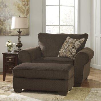 Selma Chair And A Half And Ottoman Wayfair