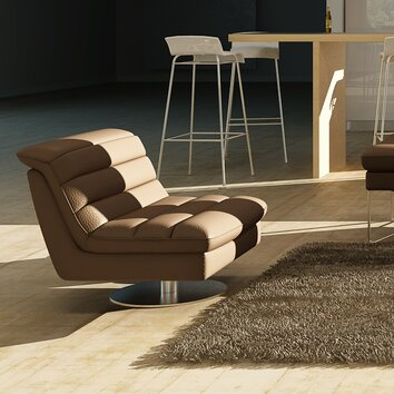 J Amp M Furniture Astro Swivel Side Chair Allmodern