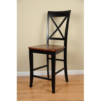 Counter Height X Back Chairs : All Bar Stools Wayfair