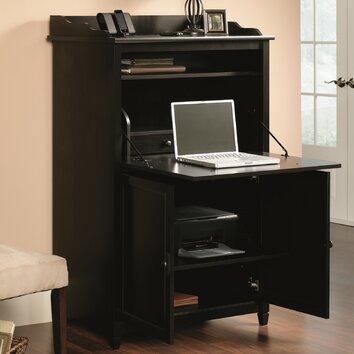 Sauder Edge Water Desk Armoire Ii Amp Reviews Wayfair