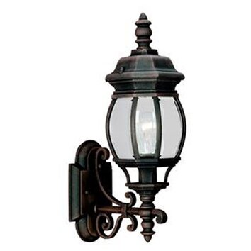 Wayfair External Wall Lights : Sea Gull Lighting Colonial 1 Light Outdoor Wall Lantern & Reviews Wayfair