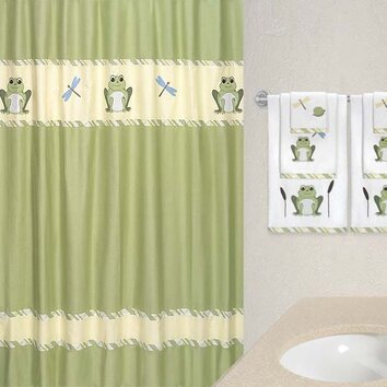 Sweet Jojo Designs Leap Frog Shower Curtain Amp Reviews