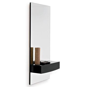 Calligaris Morgan Mirror With Shelf Allmodern
