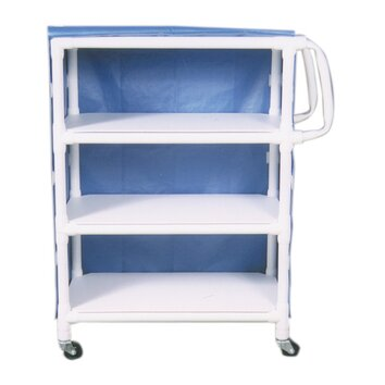 MJM International Mid Size Linen Cart and Optional Accessory Bags