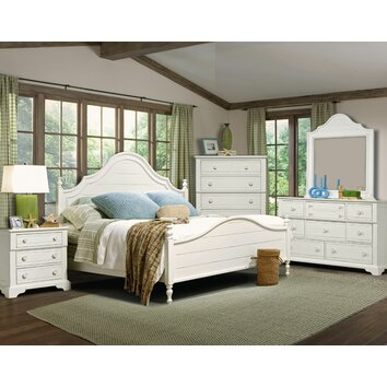 Cottage grove wingback bedroom collection wayfair - Kathy ireland bedroom furniture collection ...
