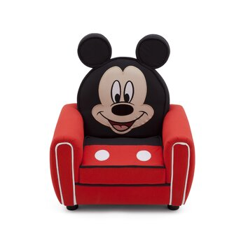 Delta children mickey mouse figural kid upholstered chair amp reviews