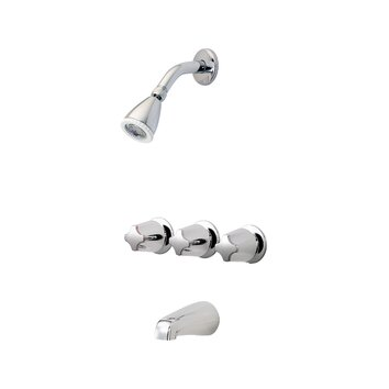 Price Pfister Three Thermostatic Tub and Shower Faucet   01 321