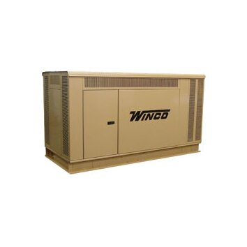Winco Power Systems 40 Kw Three Phase 277/480 V Natural Gas and Propane Double Fuel Standby Generator   PSS40LS 18