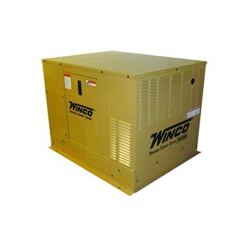 Winco Power Systems 8 Kw Single Phase 120/240 Natural Gas and Propane Double Fuel Standby Generator   PSS8B4W