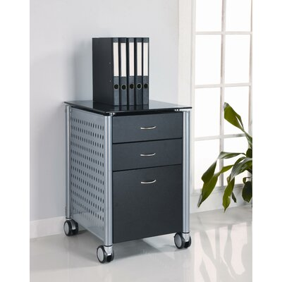 Innovex Filing Cabinet with Glass Top