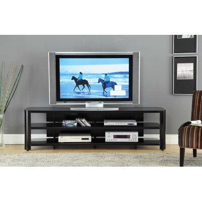 "Innovex 73"" Glass TV Stand"