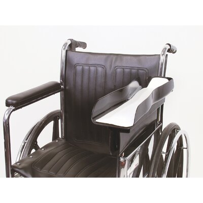 AliMed Premier Wheelchair Arm Tray in Black