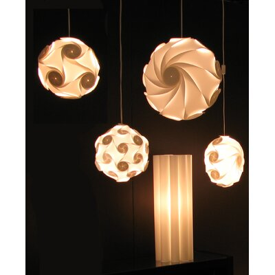 """Electric Firefly Designs 12"""" Plastic Lamp Shade"""