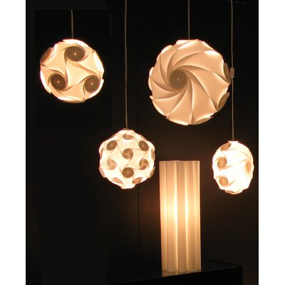 Electric Firefly Designs Sol Lightshade in White by Electric Firefly