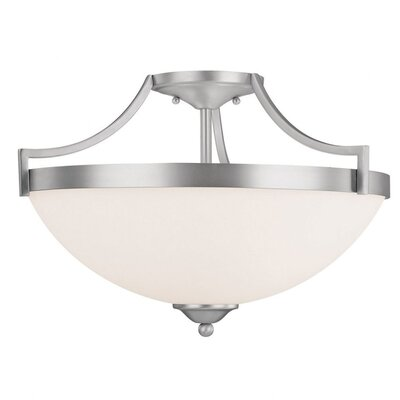 Capital Lighting Towne and Country 3 Light Semi Flush Mount
