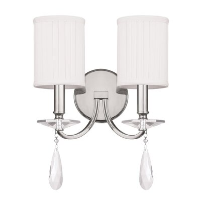 Capital Lighting Alisa 2 Light Wall Sconce