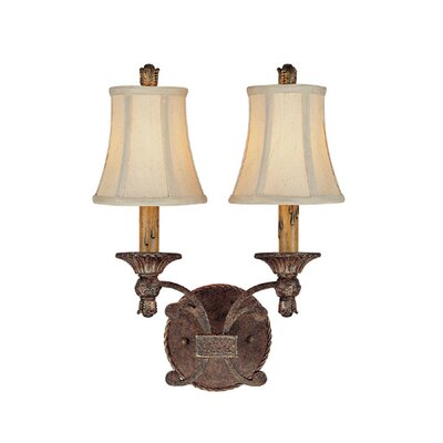 Capital Lighting Squire 2 Light Wall Sconce