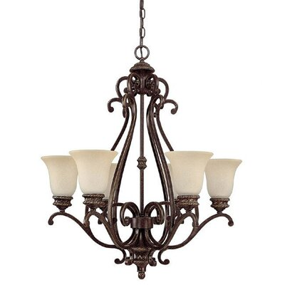 Capital Lighting Chatham 6 Light Chandelier