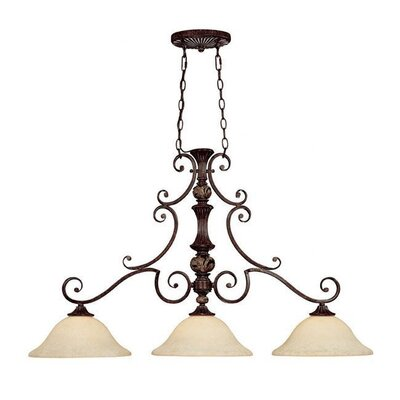 Capital Lighting Manchester 3 Light Kitchen Island Pendant