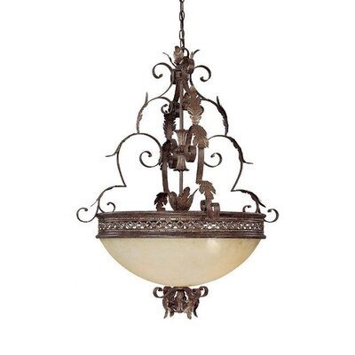 Capital Lighting Grandview 5 Light Inverted Pendant