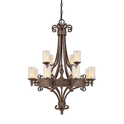 Capital Lighting Squire 12 Light Chandelier