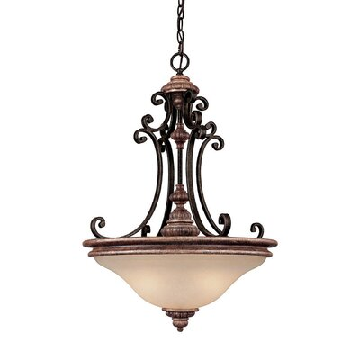 Capital Lighting Foxborough 3 Light Inverted Pendant