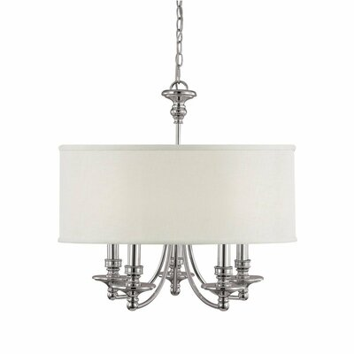 Capital Lighting Midtown 5 Light Chandelier