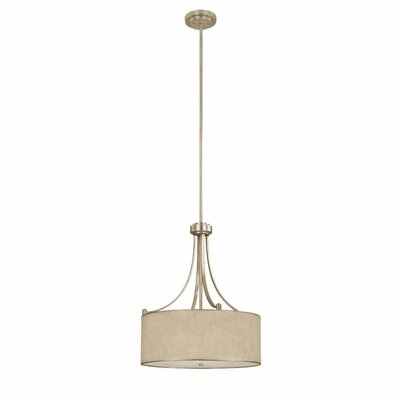 Lenox 4 Light Drum Pendant