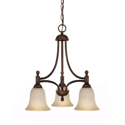 Capital Lighting Metropolitan 3 Light Energy Star Chandelier