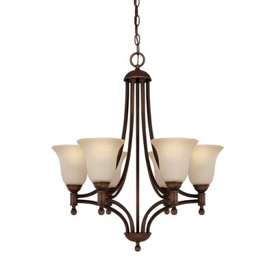 Capital Lighting Metropolitan 5 Light Chandelier
