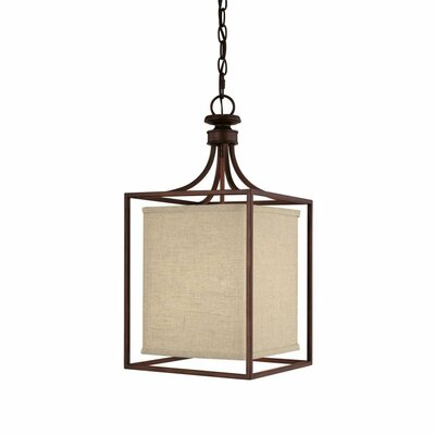 Midtown 2 Light Foyer Pendant