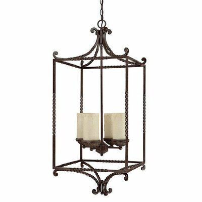 Highlands 4 Light Foyer Pendant