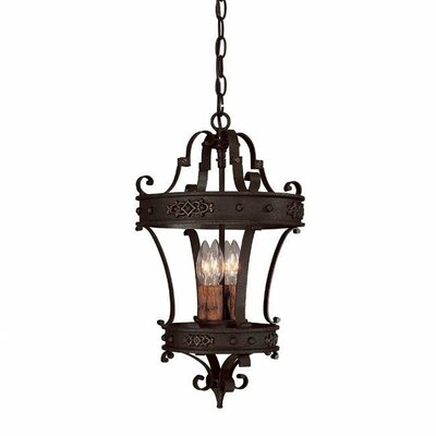 River Crest 4 Light Foyer Pendant